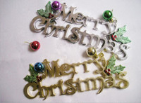 Wholesale Marry Christmas Hang Tag Christmas Decorations Party Christmas Ornaments