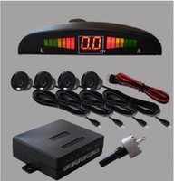 Wholesale CHpost Car Reverse Parking Sensors Rear Buzzer LED display RW CE02