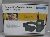Wholesale Lowest Price Fedex Freeshipping level vibration and shock training dog collar with lcd display d