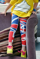 Wholesale New Kids Toddlers Girls Multi Color Cotton Leggings Pants Tights Size