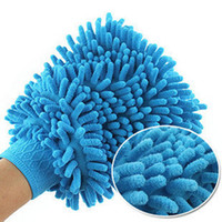 0 0 Sponges, Cloths & Brushes free shipping Ultrafine fiber chenille double faced wipe car gloves cleaning cloth car wash gloves dust gloves 5 pcs in 1 pack