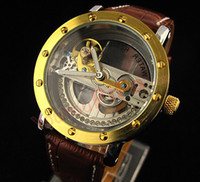 Wholesale Fully automatic hollow out Mechanical watch Luxury watches tourbillon diamond watches