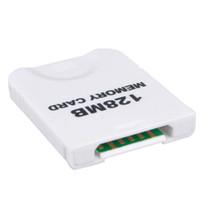 Wholesale Memory Card For Wii Nintendo MB GameCube Blocks White