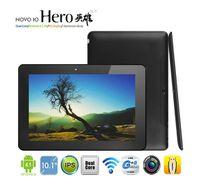 Wholesale Xmas Android Tablet PC Ainol Hero inch IPS Dual Core GHz GB GB Bluetooth Dual Camera WiFi
