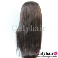 Wholesale Reals Pictures About Brazilian Virgin Human Hair Straight Lace Front Wigs
