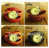 Wholesale Luxury Ladies Vintage Wristwatches For Women Gift Fashion Clock Designer Leather Quartz Wrist Watch