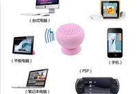 Wholesale Wireless Bluetooth Mini Speakers Hands free Silicone Sucker Waterproof
