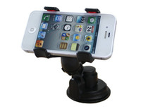 Universal   360 Degree stick to Windscreen Car Mount Holder Stander Cradle For iPhone 5 5C 5S galaxy S4 HTC note 3 2 GPS Cell Phone strength adsorbtion