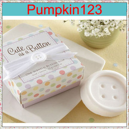 Wholesale Creative Design Button Soap with Bowknot for Wedding Festival Party Decoration Wedding Gift Soap