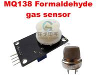 alcohol gas sensor - 100 Formaldehyde gas detection sensor MQ138 aldehydes and alcohols gas sensor