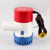 Wholesale 12V Submersible Fishing Boat Bilge Water Pump GPH with Retail Box and Manual