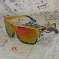 Wholesale 12pcs Sports Sunglasses Cycling Sport Sun Glasses Mens Sunglasses Colorful Mirror Lenses Colors
