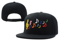 Unisex Embroidered Spring & Fall Music Snapbacks I Love Rock I Love Hip Hop Snapback Caps Design Nice Music Adjustable Sport Caps Wholesale Hats High Quality Free Shipping