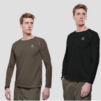 base layer - Hot Men Cycling Shirts Champion Sportswear Tops Quick Dry Compression Base Layers Tees T Shirt Multi function Outdoor Clothing