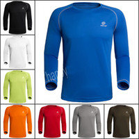 Wholesale Bulk Men Cycling Shirts Champion Sportswear JERSEY Tops Quick Dry Compression Base Layers Tees T Shirt Multi function Outdoor Tees