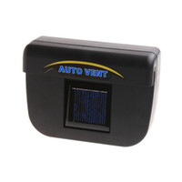 Wholesale Solar Power Car Auto Cool Air Vent With Rubber Stripping Car Ventilation Fan H1002