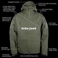 Wholesale 1PCS V Men Outdoor Hunting Camping Waterproof Jacket