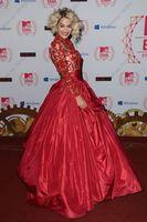 New Rita Ora at the MTV EMA's Taffeta Celebrity Dresses Red ...