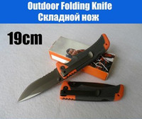 Folding Blade Folding Blade  Outdoor Survival Folding Knife Camping Hunting Rescue Pocket Knife Size M 19CM