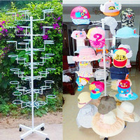 Wholesale Hat Shelf Hat Rack Coat Hat Display Stand Floor Hat Storage Shelf