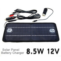 Wholesale high quality Multi Purpose panel solar charger battery monocrystalline Cell Phone Car RV12V W