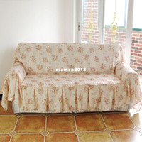 other three sofas specification flower Free shipping! Pearl fabric blending fabric rustic home sofa towel sofa cover sofa set cushion