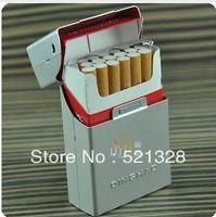 Wholesale Creative Auto flip Aluminum Cigarette Boutique cigarette case cfx103