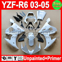 7gifts Unpainted+ Primer Fairing For YAMAHA YZF- R6 03- 05 YZFR...