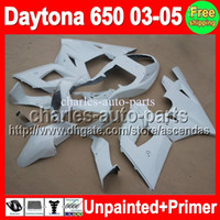 Comression Mold triumph - 7gifts Unpainted Primer Fairing For Triumph Daytona Daytona650 Fairings Bodywork Body