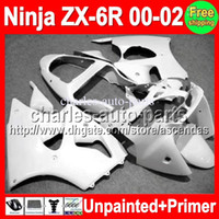 7gifts Unpainted+ Primer Fairing For KAWASAKI NINJA ZX- 6R 00-...