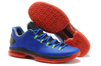 Wholesale 2013 New Arrival Colors Swingman Kevin Durant KD VI Basketball Shoes Low KD VI Athletic Shoes