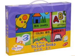 Wholesale Cloth Fabric Books Cute Handmade Cloth Fabric Books Book for Children Kids Toy New Color As show in the pictures Quantity