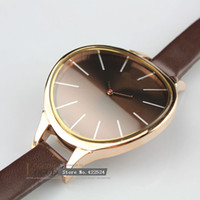 Cheap 1pcs logo fashion lady's women leather watch Japan movement Brand Watches high quality watch quartz crystal watch free shipping