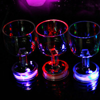 beer goblets - Goblet beer drink coke beer cup colorful flash cup discus the trumpet led toys