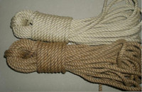 Wholesale 6mm jute twine jute rope for packing and decoration m USD M