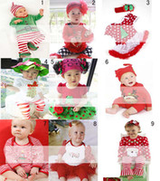 Wholesale Kids Suit Outfits Fashion Kids Wear Boy And Girl Christmas Clothes Infant Outfits Children Set Baby Christmas Clothing Child Suit Kids Sets