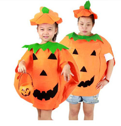 Wholesale Halloween Costumes Costumes Pumpkin Hat Pumpkin shape clothing Pumpkin Clothes Child Adult SD00048