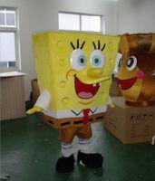 Unisex animated movie making - Sponge cartoon animated character mascot costume