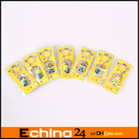 Wholesale New Card Package Cartoon Keyring Despicable Me Keychain Lovely Gift For Children Christmas Gift