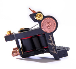 Handmade Luo's Tattoo Machines Gun 10 Coils For Liner or Shader Assorted