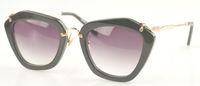 Wholesale MM Brand designer Sunglasses smu10ns Vintage acetate gradient lens Sunglasses for Women with Original pink box