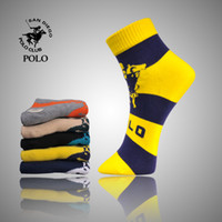 Wholesale 2013 Designer Brand New Men s socks cotton filve colors drop shipping weekly socks pl1119