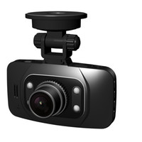 Wholesale 100 Original Glass Lens GS8000L P Car DVR quot LCD Car Recorder Video Dashboard Camera with G sensor NOVATEK chipset GS8000