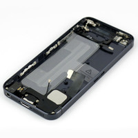 battery post replacement - For iPhone Full Back Housing Replacement Battery Door Cover Bezel G Repir Parts By China Post