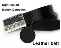 Wholesale Luxury Leather belt Camera x1080P Night Vision motion detection DVR Remote control hidden spy dvr