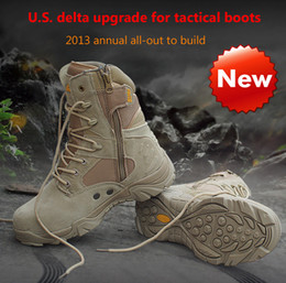 Wholesale 2016 Fashion Hot Men s Jungle Coyote Boot military boots desert boots high top hiking boots outdoor boots special forces tactical flight
