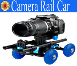 Wholesale D2 camera Rail car Desktop orbit camera block stabilizer Super mute mini Mobile DSLR carema