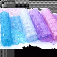 Cheap Household items bathroom pebble slip-resistant pvc mat yiwu commodity baihuo
