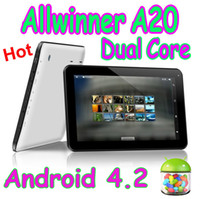 Wholesale 10 Inch A20 Dual Core Tablet PC Wifi Android GB RAM GB Capacitive Screen HDMI Port P Dual Camera Webcam Flytouch inch