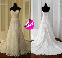 Wholesale 2014 Actual Images Real Sample Corset and Tulle Beach Wedding Dresses Beads Appliques Court Train A Line Spring Summer Bridal Fancy Gowns